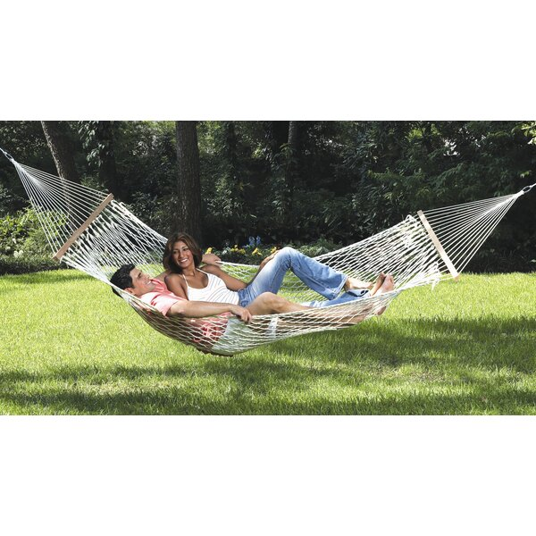 Seaview Rope Cotton Tree Hammock by Texsport