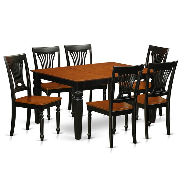 Armentrout 7 Piece Dining Set by Darby Home Co