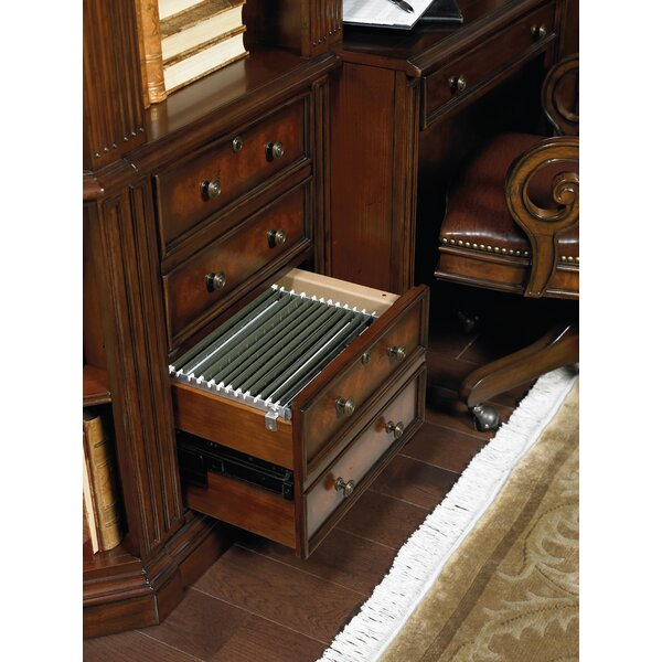 European Renaissance Ii Standard Bookcase by Hooker Furniture