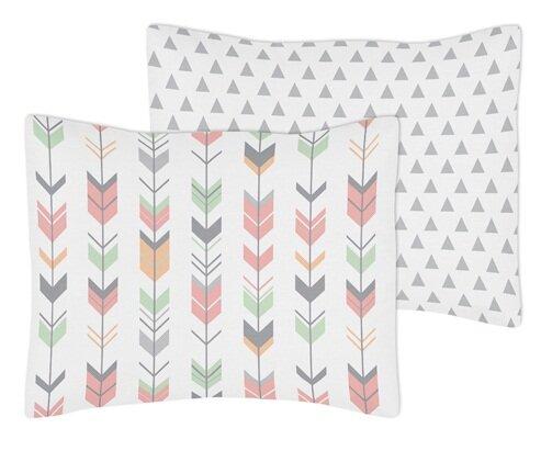 Mod Arrow Standard Pillow Sham by Sweet Jojo Designs
