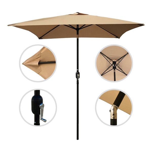 Horicon Patio 6.5' Square Market Umbrella by Charlton Home
