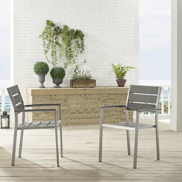 Coline Patio Chair (Set of 2) by Orren Ellis