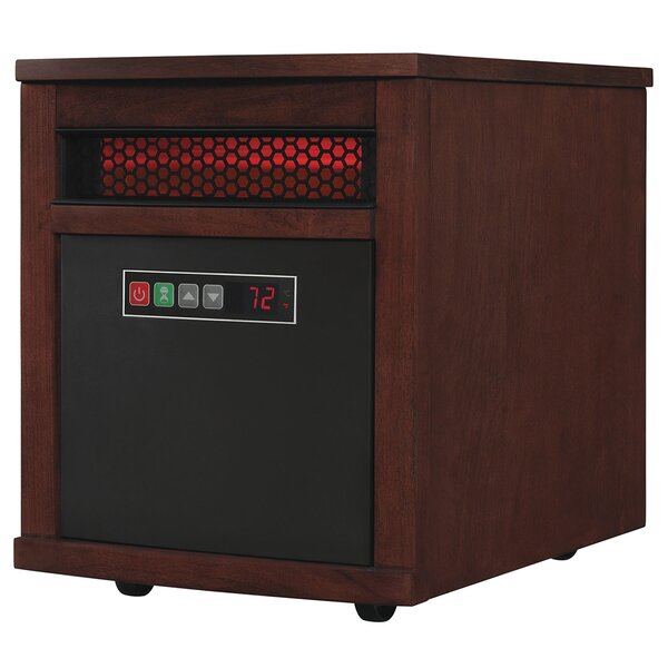 1,500 Watt Electric Infrared Cabinet Heater by Dur