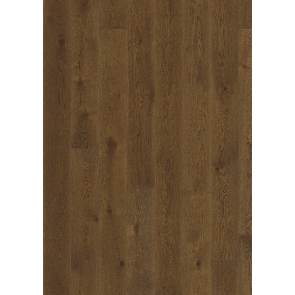 Classic Nouveau 7-3/8 Engineered Oak Hardwood Flooring in Rich Brown by Kahrs