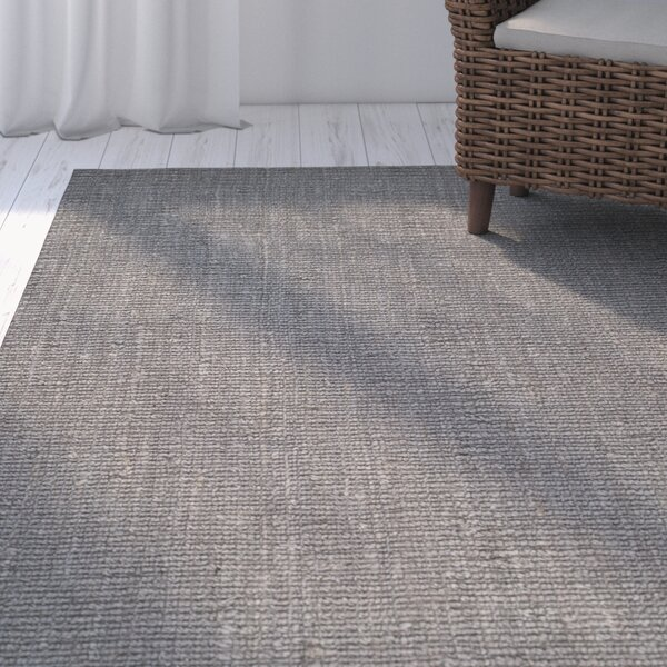 Greene Hand-Woven Gray Indoor Area Rug by Beachcre