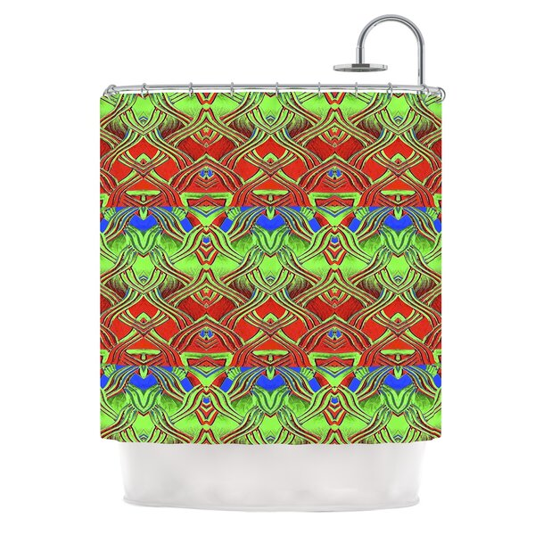 Mystic Flow by Anne LaBrie Shower Curtain by East Urban Home