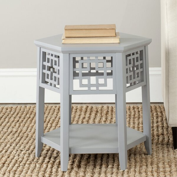 Shirlene End Table by World Menagerie