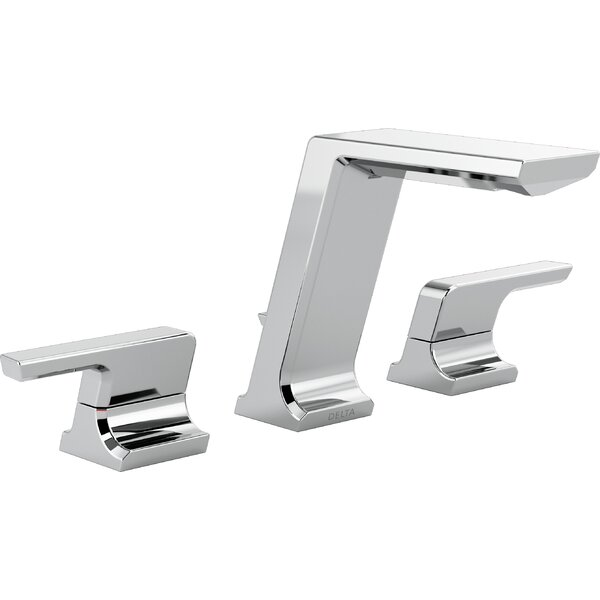 Pivotal Widespread Bathroom Faucet by Delta