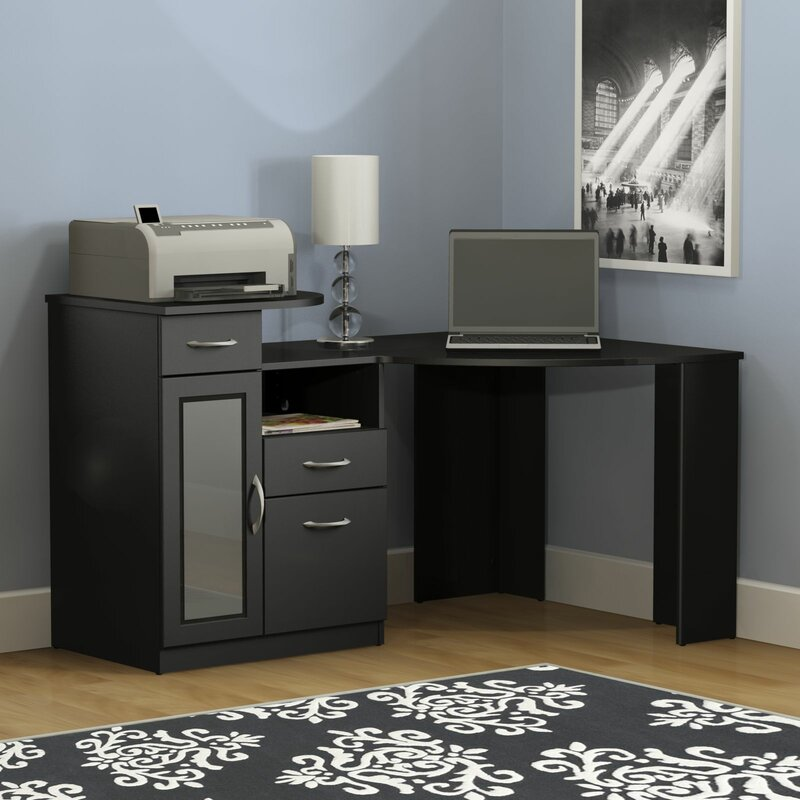 Latitude Run Wilmot Corner Computer Desk & Reviews