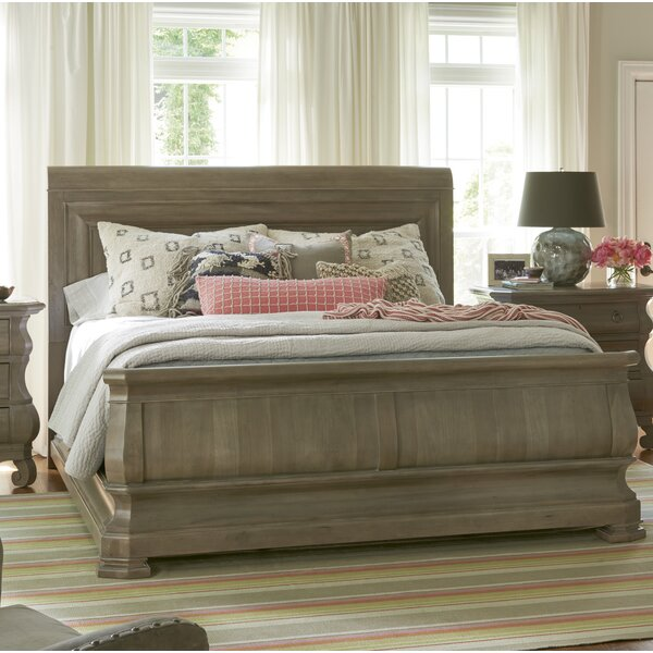 Baily Sleigh Bed by Darby Home Co