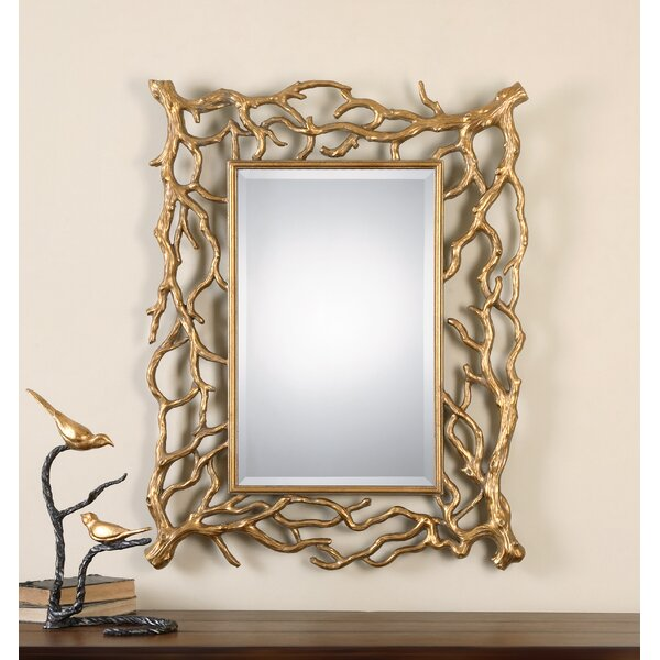 Sequoia Tree Branch Accent Mirror by Uttermost