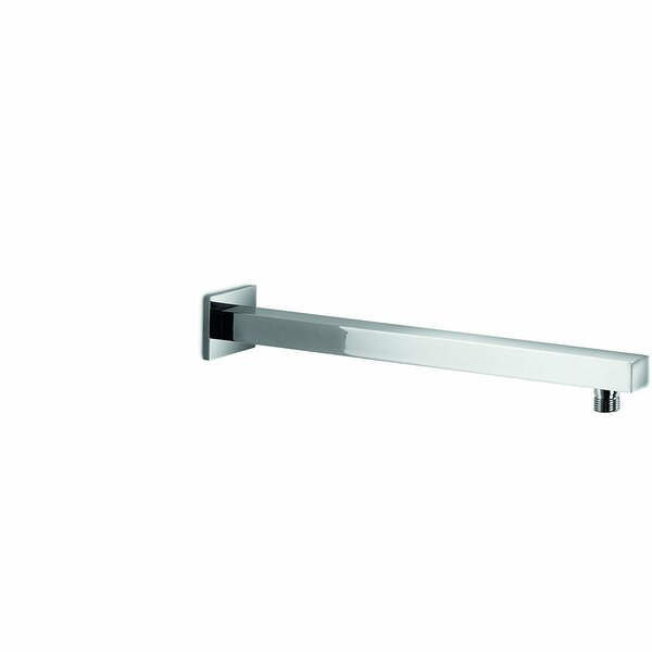 Supioni Wall Mounted Square Rod Pipe Shower Arm by AGM Home Store