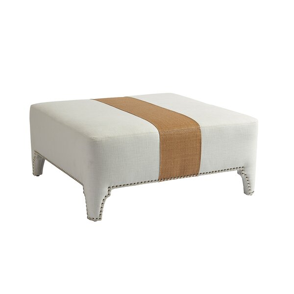 Sheffield Cocktail Ottoman by Barclay Butera