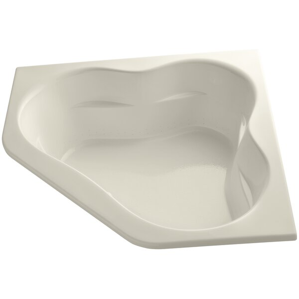 Tercet 60 x 60 Alcove Whirlpool Bathtub by Kohler