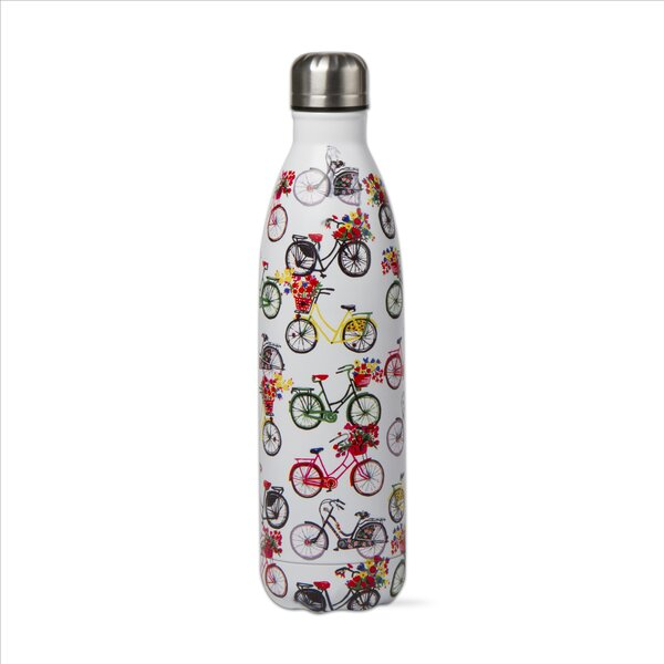 Bike Ride 16 oz. Stainless Steel Bottle by TAG