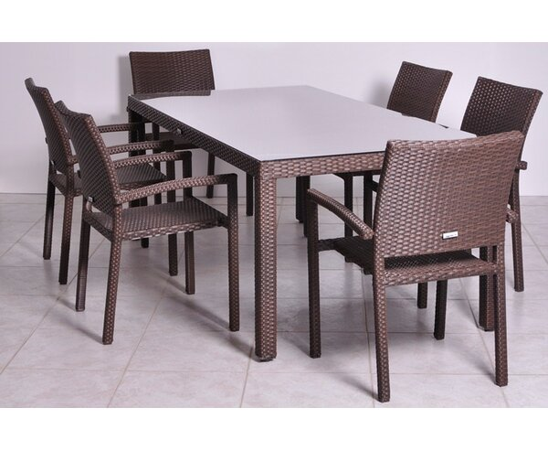 Liberty Dining Table by International Home Miami