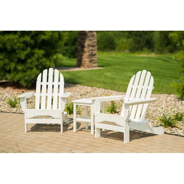 Paterson Adirondack 3 Piece Seating Group by August Grove