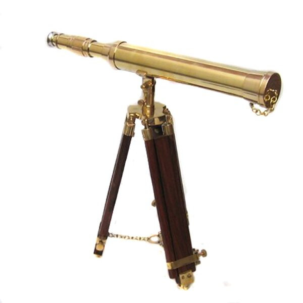17th Century Antique Replica Tabletop Telescope by EC World Imports