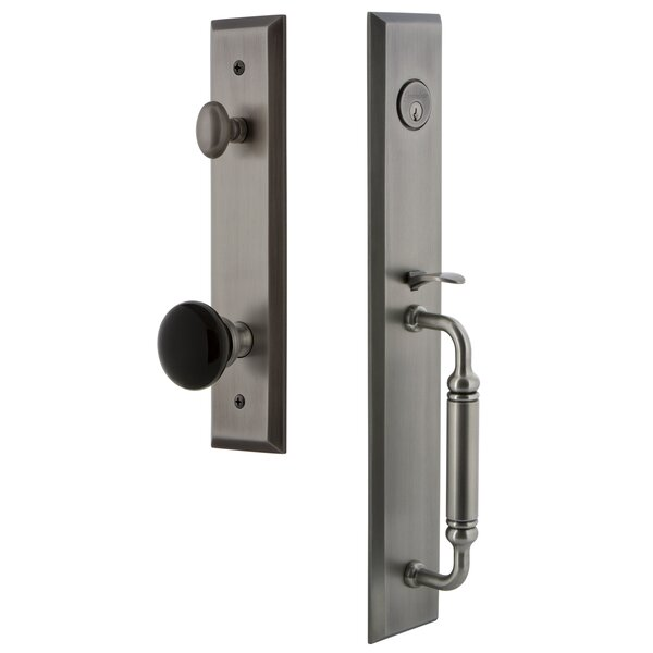 5th Avenue Dummy Handleset with C Grip and Coventry Knob by Grandeur