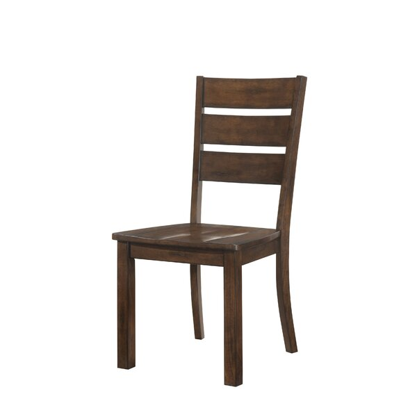 Morefield Solid Wood Dining Chair (Set of 2) by Loon Peak