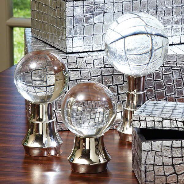 Tiered 3 Piece Ball Stand Set by Global Views