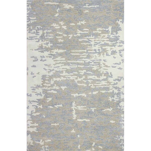Wasserman Hand-Tufted Ivory Area Rug by Latitude Run