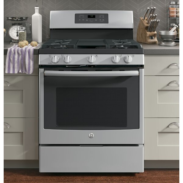 30 Free-Standing Gas Range with Griddle by GE Appliances30 Free-Standing Gas Range with Griddle by GE Appliances