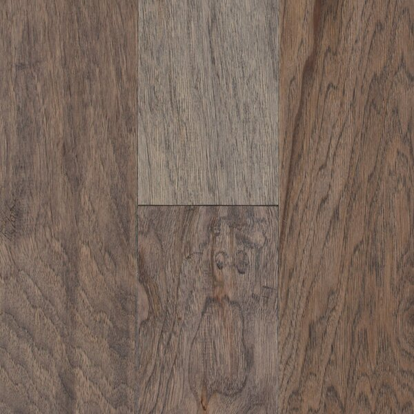 Pioneer Harbor 5 Engineered Hickory Hardwood Flooring in Gray by Mohawk Flooring