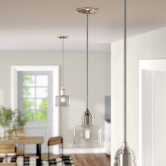 Gracie Oaks Natal 1 Light Single Bell Pendant Reviews Wayfair
