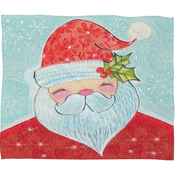 Donmoyer Sweet Santa Fleece Throw Blanket by Brayden Studio