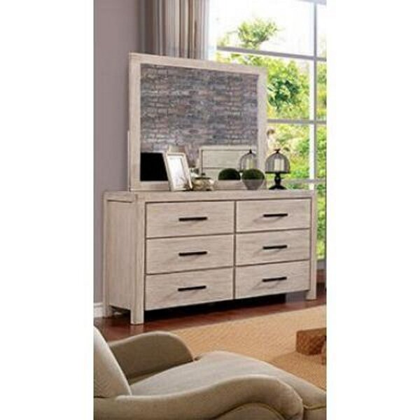 Chanler 6 Drawer Double Dresser with Mirror by Union Rustic