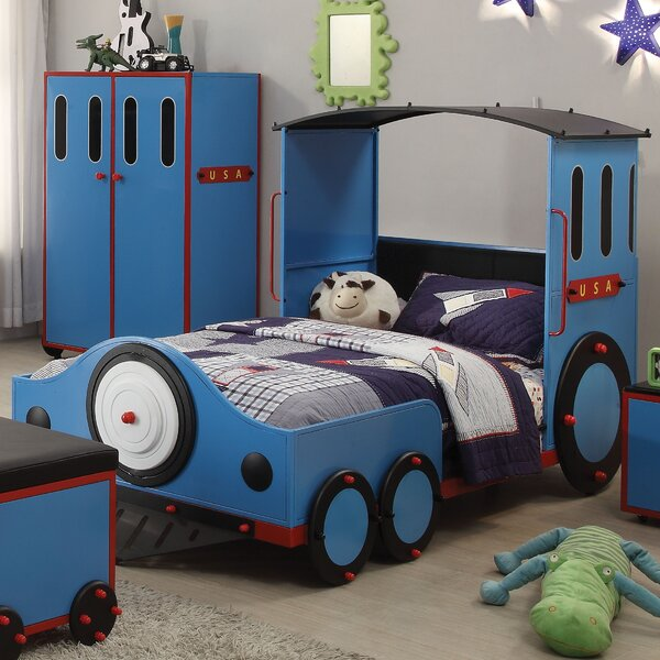 Nala Train Twin Train Bed by Zoomie Kids