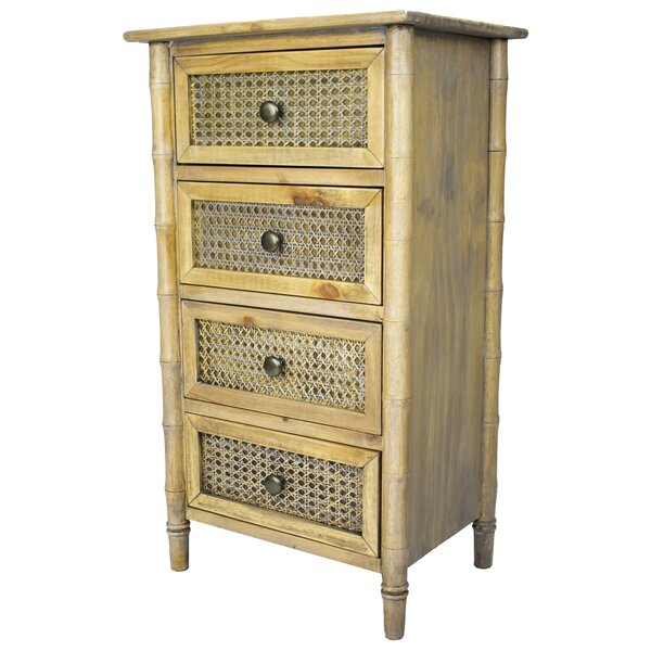 Ali 4 Drawer Accent Chest by Bay Isle Home