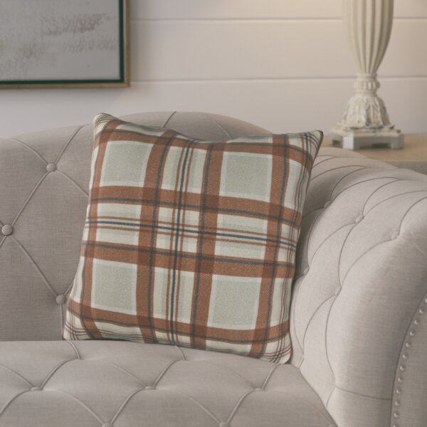 Cavalier Cotton Throw Pillow by August Grove