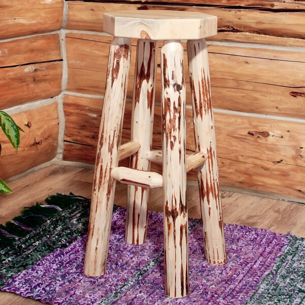 Abordale 30 Round Seat Bar Stool by Loon Peak