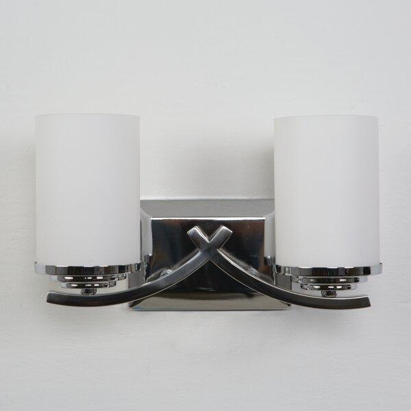 Hallam 2-Light Vanity Light by Charlton Home