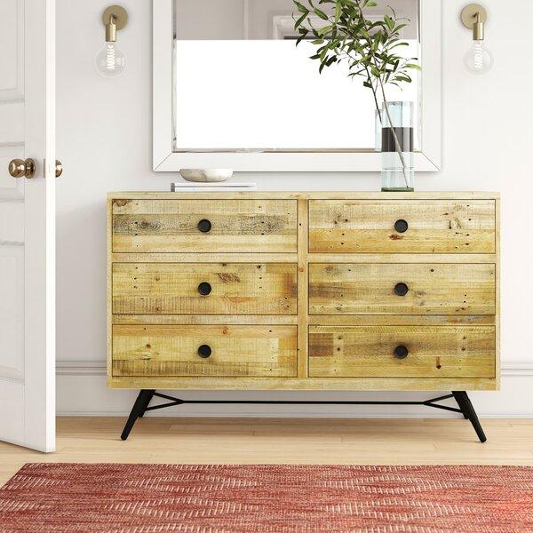 Coda 6 Drawer Double Dresser by Foundstone