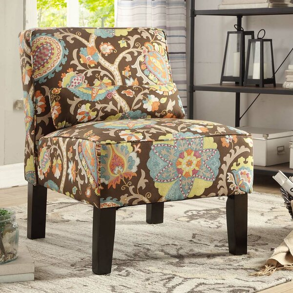 Kenny Slipper Chair by Winston Porter