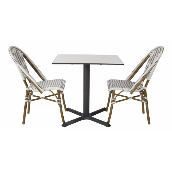 Avery Outdoor 3 Piece Bistro Set by Madbury Road