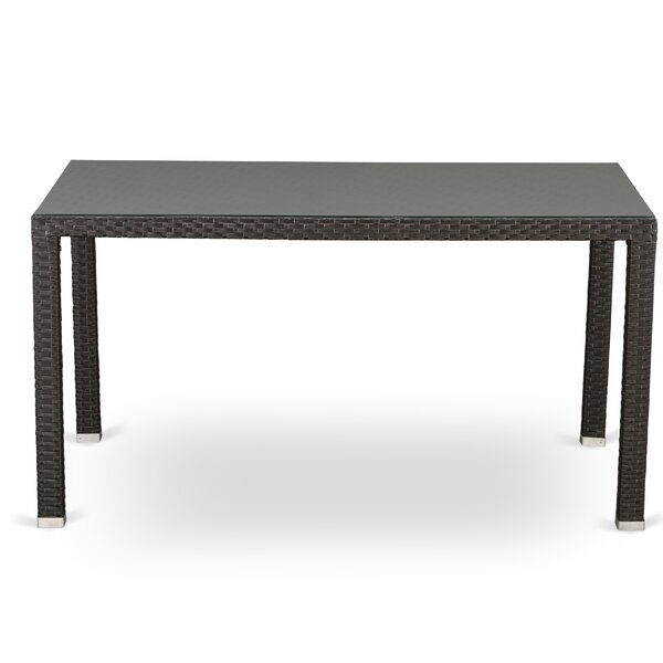 Smeltzer Wicker Dining Table by Brayden Studio