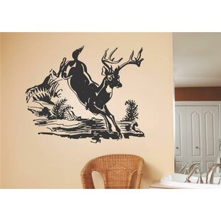 Deer Galloping Wall Decal