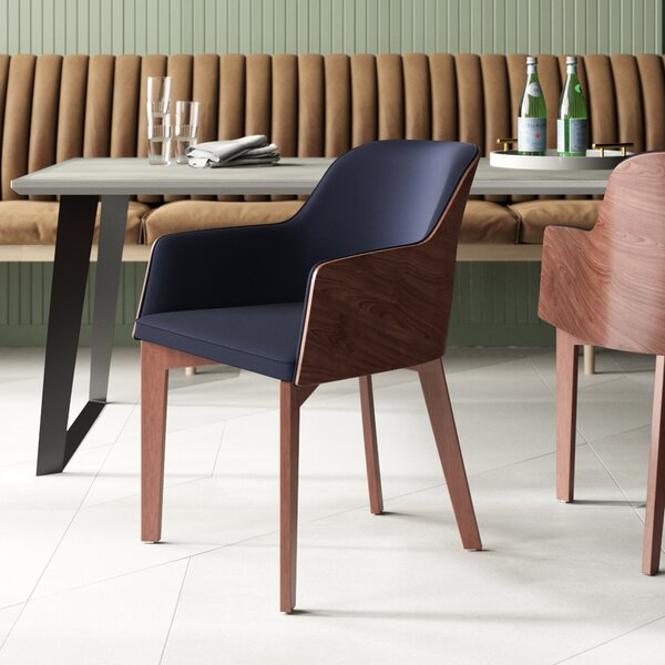 Hudson Upholstered Dining Chair by Nuans Nuans