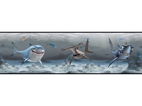 Walt Disney Kids II 9 Shark Border Wallpaper by Yo