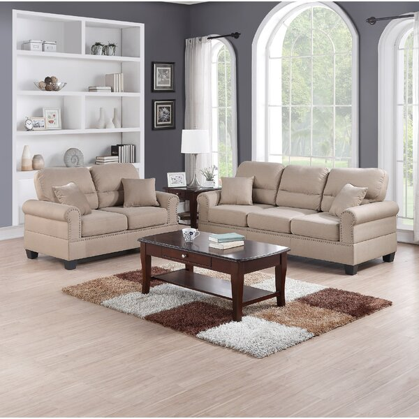 Jablonski 2 Piece Living Room Set by Alcott Hill