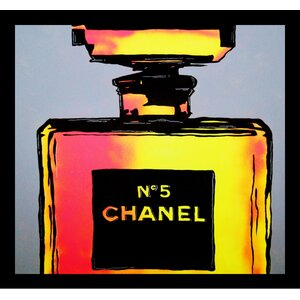 'Chanel No. 5 Perfume' Framed Graphic Art Print by Buy Art For Less
