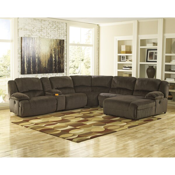 Malta Reclining Sectional by Alcott Hill