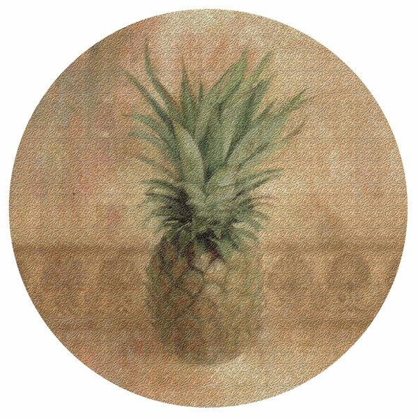 Pineapple Cork Trivet by Thirstystone