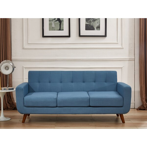 Valuable Quality Lester Square Arms Sofa by Langley Street by Langley Street