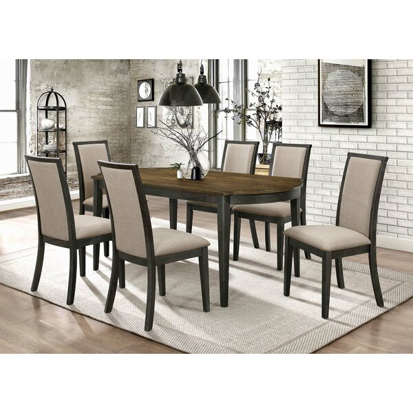 Steed 7 Piece Dining Set by Gracie Oaks