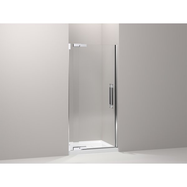 Pinstripe 35.75 x 72.25 Pivot Shower Door by Kohler
